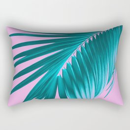 Palm Leaf Dream #3 #tropical #decor #art #society6 Rectangular Pillow