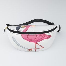 Pirate Flamingo Matching Flamingo Pirate Lover Fans Gifts T-Shirt Fanny Pack
