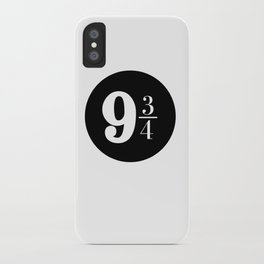 Platform 9 3/4 iPhone Case