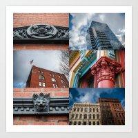 When In Portland, Look Up - 1 Art Print