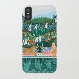 Chilling || #illustration #painting iPhone Case