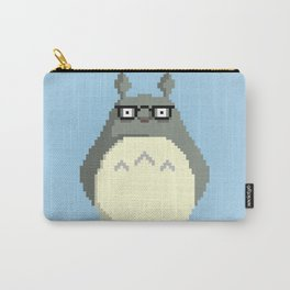Totoro Pixel Carry-All Pouch