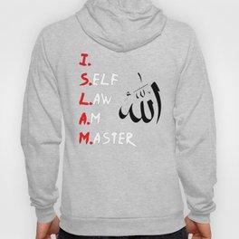 I Self Law Am Master Mens Moorish American Islam Hoody