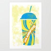 Slurpee Obsession Art Print
