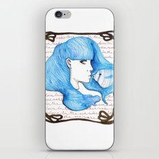 Make love in the Sea iPhone & iPod Skin