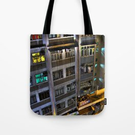 Street Photo - Old Building - HDR  Tote Bag