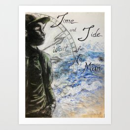 Time and Tide Art Print