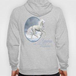 White Unicorn Hoody