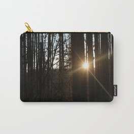 Sun through trees Carry-All Pouch