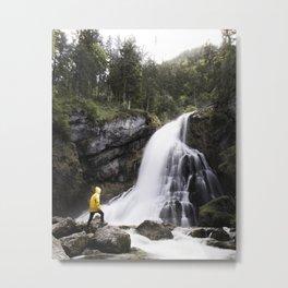 Gollinger waterfall Metal Print