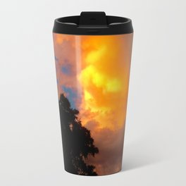 Florida Sunrise Orange Sky Travel Mug