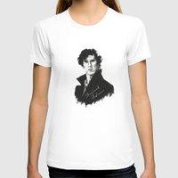 sherlock holmes T-shirts featuring Sherlock Holmes by StarshipRanger