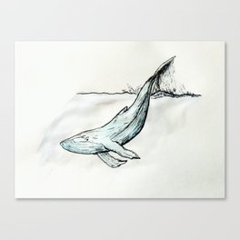 Whale you look at that! Canvas Print