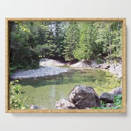 Natural Beauty of Nature Serving Tray