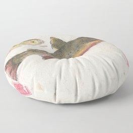 Pair of Brook Trout- Gyotaku Floor Pillow