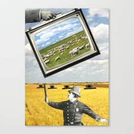 The Battlefield Of Today Canvas Print