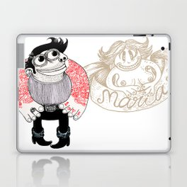 tatoo_love_maria Laptop & iPad Skin