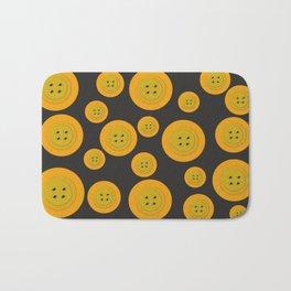 Big Buttons Little Buttons Bath Mat