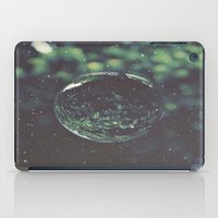 globe iPad Cases featuring Snow Globe by Jane Lacey Smith
