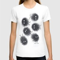 men T-shirts featuring Ink Men by Jennifer Warmuth Art And Design