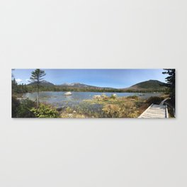 Hiking in Baxter Canvas Print