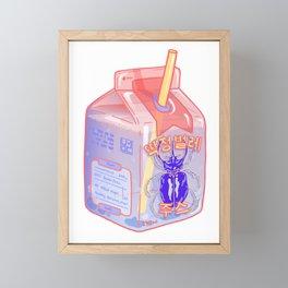 Beetle Juice Framed Mini Art Print