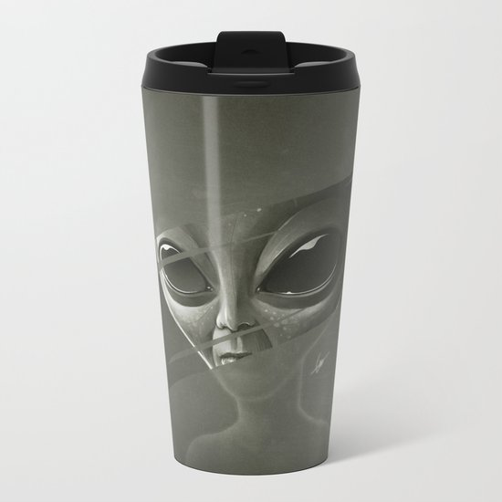 Alien Metal Travel Mug