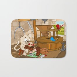 Puss in boots Bath Mat