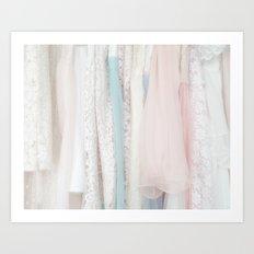 the dresses Art Print
