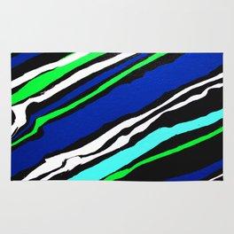 Cool Streak - Diagonal Rug