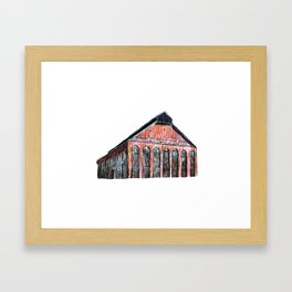 NEW CITY GAS COMPANY OF MONTREAL Framed Art Print