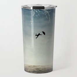 falling from the sky Travel Mug