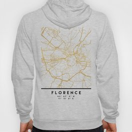 FLORENCE ITALY CITY STREET MAP ART Hoody