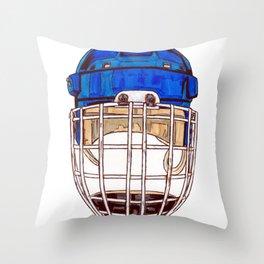 Hasek - Mask Throw Pillow