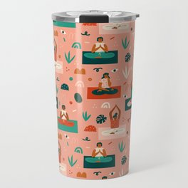 Yoga girls Travel Mug