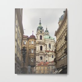 St. Nicholas Church, Mala Strana Metal Print