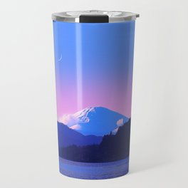 Mount Fuji Sunrise Travel Mug