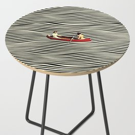 Illusionary Boat Ride Side Table