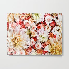 Floral Feature Metal Print