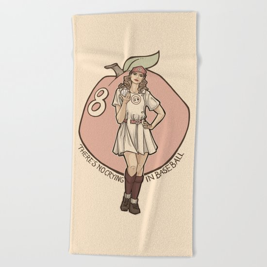 Queen of Diamonds Beach Towel