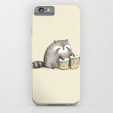 Raccoon on Bongos Slim Case iPhone 6