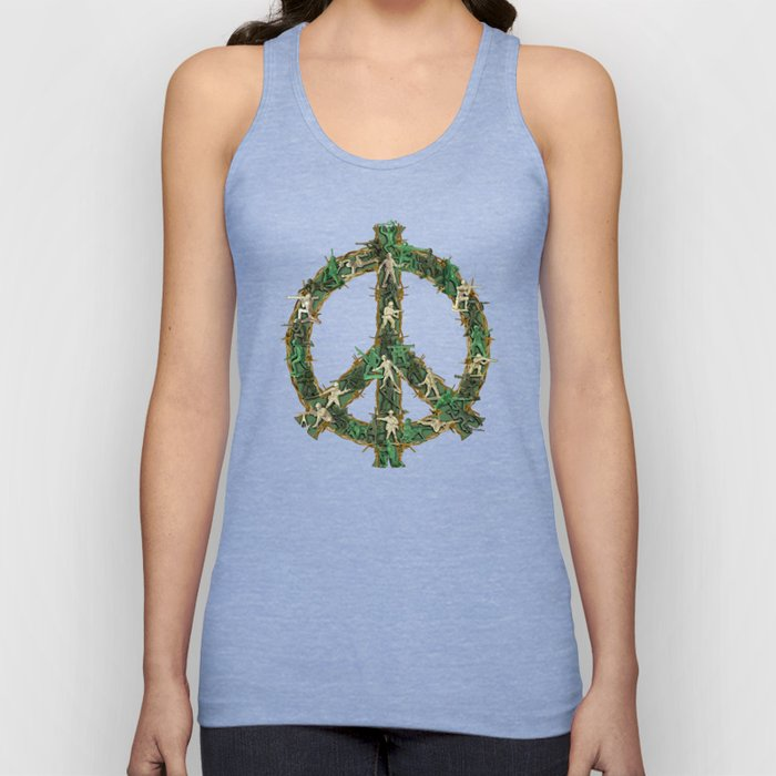 Peace Keepers Unisex Tank Top
