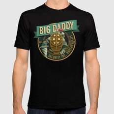 Big Daddy Black X-LARGE Mens Fitted Tee