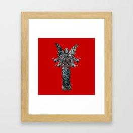 WAR ANGEL Framed Art Print