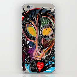 Heart is Art inspired by the music of Thomas Dolby iPhone Skin
