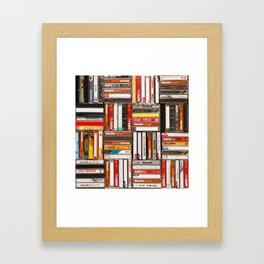 Something Nostalgic - III - Colored Version #decor #buyart #society6 Framed Art Print