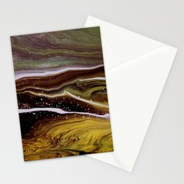 Motions 56, acrylic on canvas Stationery Cards