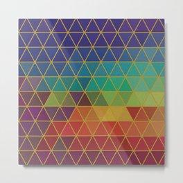 Modern Pattern No. 244 Metal Print