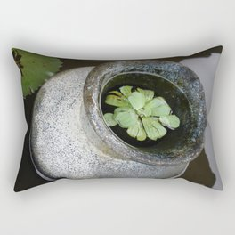 Zen Pond Rectangular Pillow