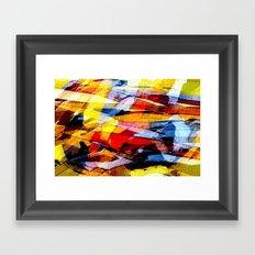 abstrakt 53 color Framed Art Print